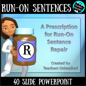 Run-on Sentences Lesson and Practice