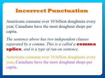 Run-on Sentences Power Point Presentation