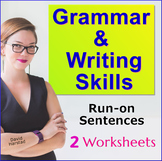 Run-on Sentences Worksheets