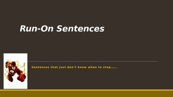 Run-on Sentences in a Flash