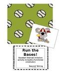 Run the Bases!  Verbal Imitation activity