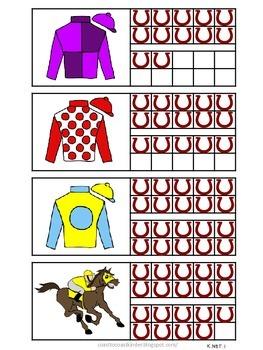 Kentucky Derby- Run the Race Math Activities