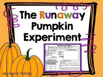 Runaway Pumpkin Science and Math Experiment STEM