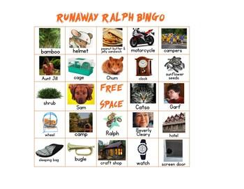 Runaway Ralph Bingo
