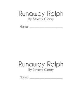 Runaway Ralph Book Club