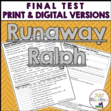 Runaway Ralph Final Test