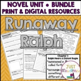 Runaway Ralph Novel Unit