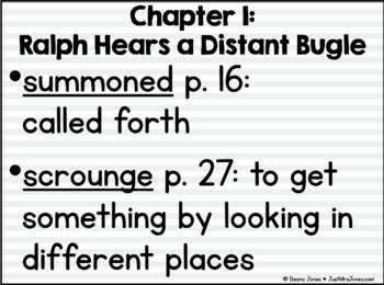Runaway Ralph Novel Unit
