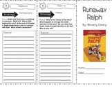 Runaway Ralph by Beverly Clearly ~ Comprehension Trifold