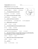 Runaway Ralph by Beverly Cleary Objective Test