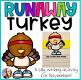 Runaway Turkey Writing Craf for Bulletin Board- Thanksgiving