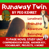 Runaway Twin Novel Unit
