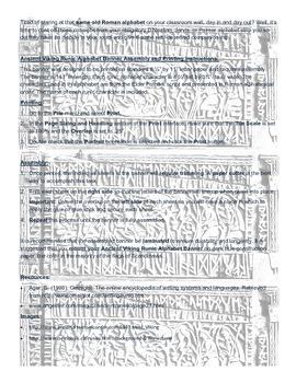 Runic Alphabet Banner