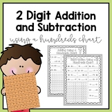 Adding and Subtracting using a 100 Chart