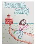 Running Away Social Story (hand-drawn!)