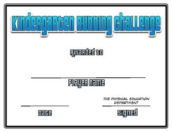 Running Challenge Certificates
