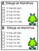 Running Dialogue - Draw a Monster
