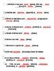 Running Dictation: Adj Agreement. Bien Dit 1, Chapter 3. G