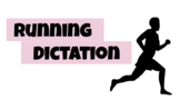 Running Dictation Story & Review Resources