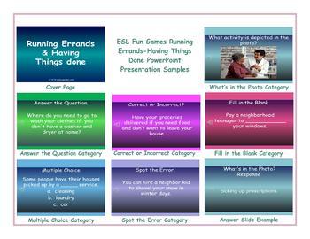 Running Errands-Having Things Done PowerPoint Presentation