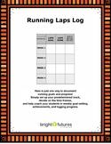 Running Laps Log