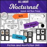 Fall Activities Stellaluna, Owl Moon, and The Moon Book Companions