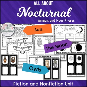 Fall Activities Stellaluna, Owl Moon, and The Moon Book Companions