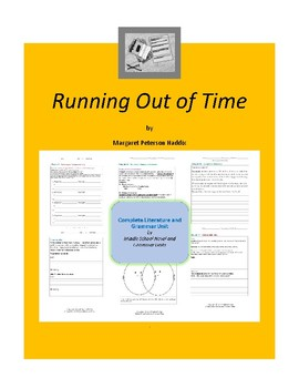 Running Out of Time Complete Literature and Grammar Unit