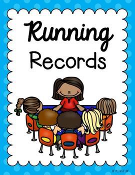 Running Record Binder