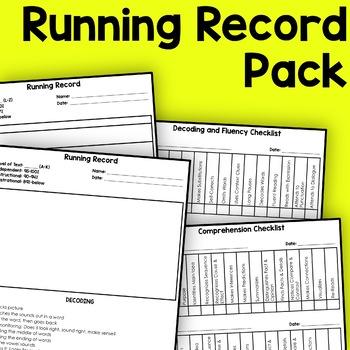 Running Record Pack