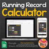Running Record Calculator - Google Sheets