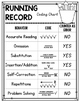 Running Record Coding Sheet  {FREEBIE}