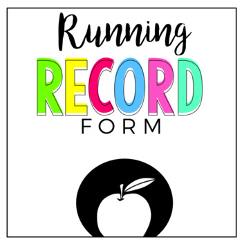 Running Record Form
