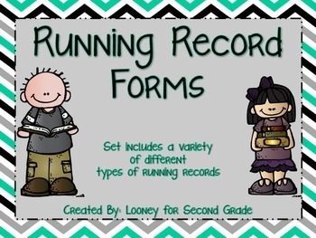 Running Record Forms