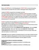 Letter to parents explaining Running Records Title I, LLI