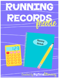Running Record - Level I - First Grade - Fiction