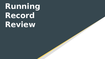 Running Record Review