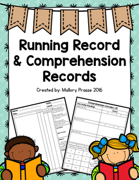 Running Record and Comprehension Record