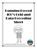 Running Record and Data Collection Sheet