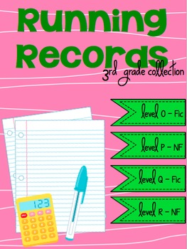 Running Records - 3rd Grade Collection