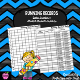 Running Records Data Tracker & Student Growth Tracker
