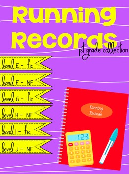Running Records - First Grade Collection