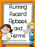 Running Records Flipbook and Forms
