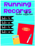 Running Records - Kinder Collection