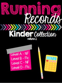 Running Records - Kinder Collection - Volume 2