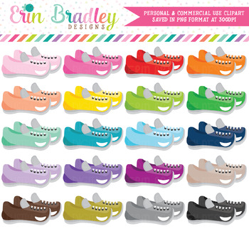 Running Shoes Clipart