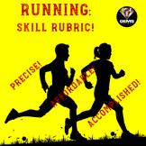 PE Rubric - Running!  Skill Rubric