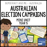 Running an Australian Election Campaign (Year 5 HASS)