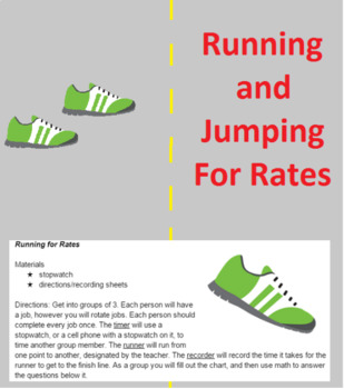 Running and Jumping for Rates