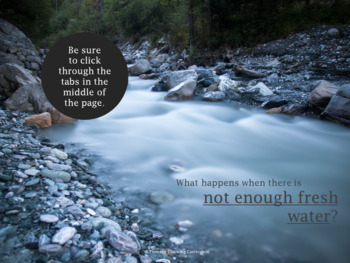 Environmental Science: Running out of Fresh Water Webquest